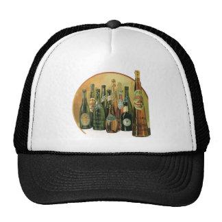 Vintage Imported Beer Bottles, Alcohol, Beverages Cap