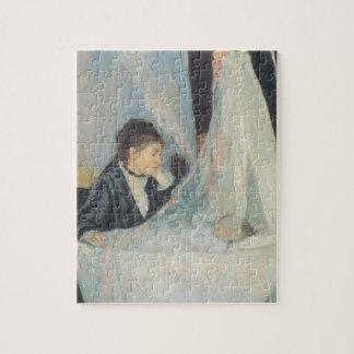 Vintage Impressionism, Cradle by Berthe Morisot Jigsaw Puzzle