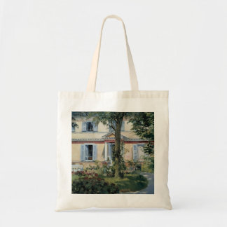 Vintage Impressionism, House at Rueil by Manet