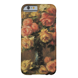 Vintage Impressionism, Roses in a Vase by Renoir Barely There iPhone 6 Case