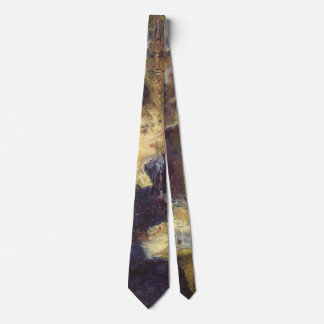 Vintage Impressionism, The Cafe by Pierre Renoir Tie