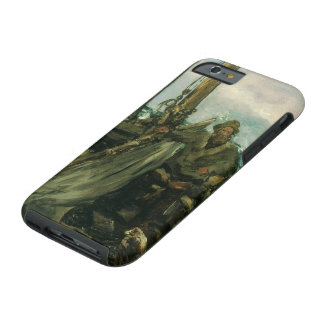 Vintage Impressionism, Toilers of the Sea by Manet Tough iPhone 6 Case