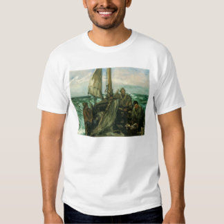 Vintage Impressionism, Toilers of the Sea by Manet T Shirt