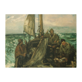 Vintage Impressionism, Toilers of the Sea by Manet Wood Canvases