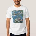 Vintage Impressionism, Waterlilies by Claude Monet Shirt