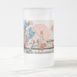 Vintage Independence Day / 4th of July Mugs