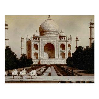 Vintage India, Taj Mahal Postcard