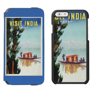 Vintage India Travel Poster custom wallet cases Incipio Watson™ iPhone 6 Wallet Case