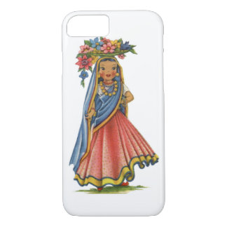 Vintage Indian Doll iPhone 7 Case