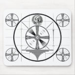 Vintage Indian Head Test Pattern Mousepad