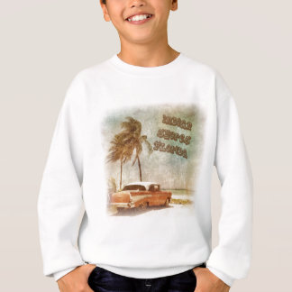 Vintage Indian Shores Beach Scene Sweatshirt