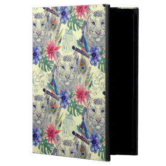 Vintage Indian Style Tiger Pattern iPad Air Covers