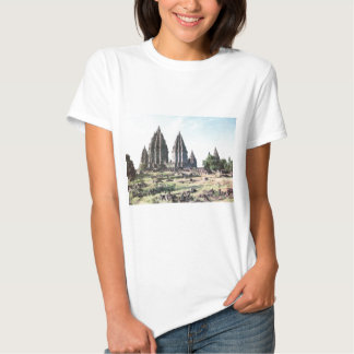 Vintage Indonesia, Temples and agriculture, Java Tee Shirts