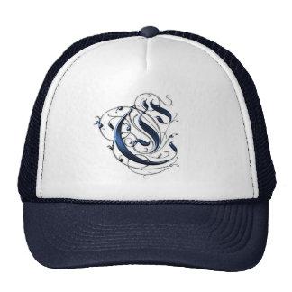 Vintage Initial C Trucker Hats
