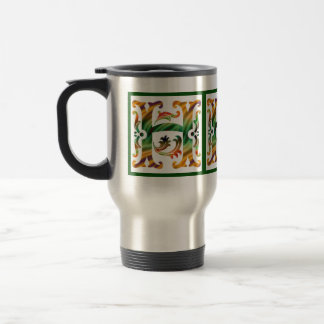 Vintage Initial H- Monogram H Coffee Mugs