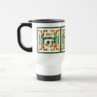 Vintage Initial H- Monogram H Coffee Mug