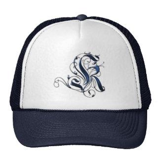 Vintage Initial K Trucker Hat