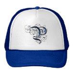 Vintage Initial P Mesh Hat