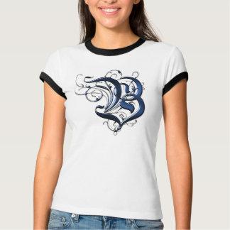 Vintage Initials B T-Shirt