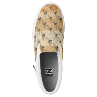 Vintage Insect Printed Shoes