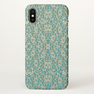 Vintage Inspired Antique Lace iPhone X Case