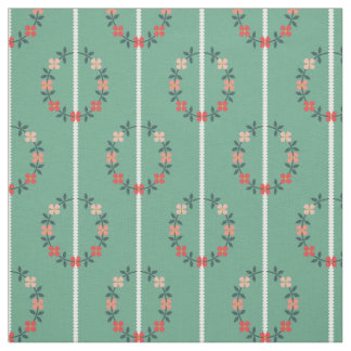 Vintage Inspired Floral Fabric
