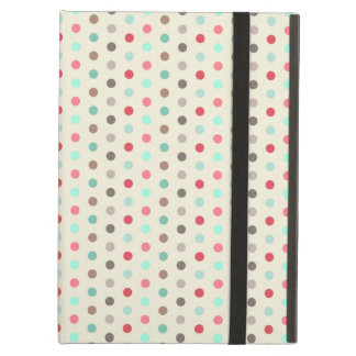 Vintage Inspired Small Polka Dots Pattern iPad Air Case