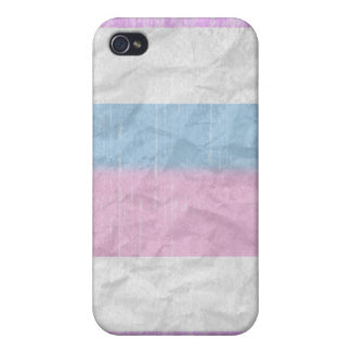 Vintage Intersexed Pride Cases For iPhone 4