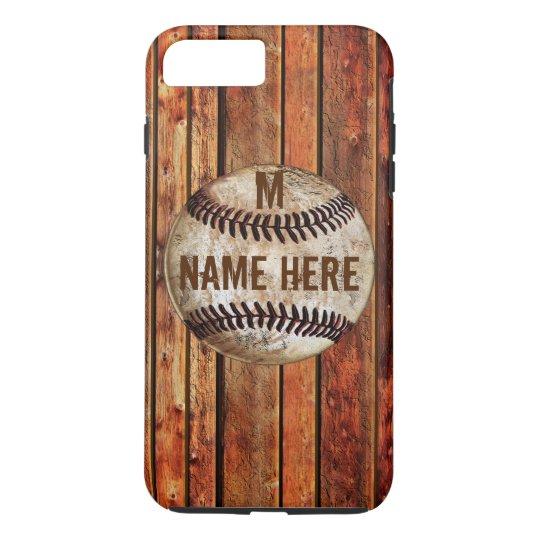 Vintage iPhone 7 PLUS Baseball Case PERSONALIZED