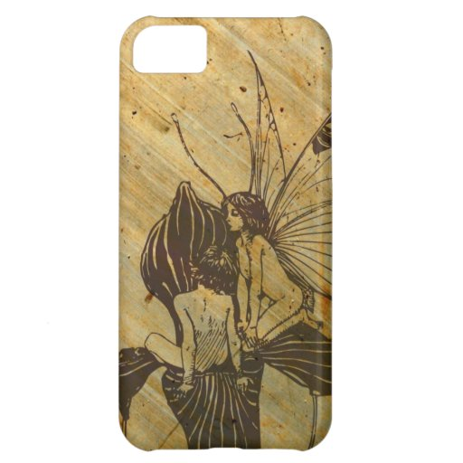 Vintage iPhone Case -- Fairies Case For iPhone 5C