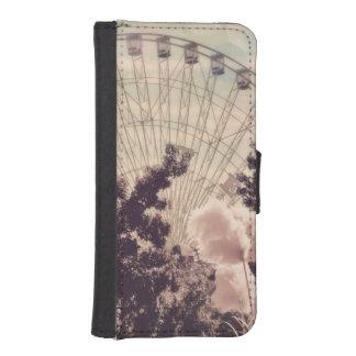 vintage iPhone SE/5/5s wallet case