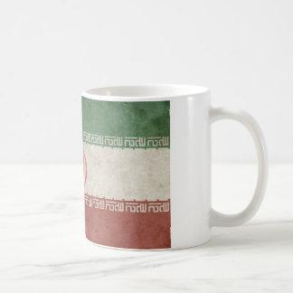 Vintage Iran Flag Coffee Mug