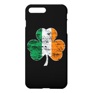 Vintage Ireland Flag Shamrock iPhone 7 Plus Case