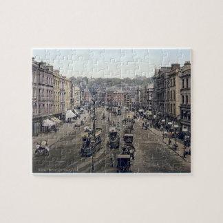 Vintage Ireland, Patricks st. Cork city jigsaw Jigsaw Puzzle