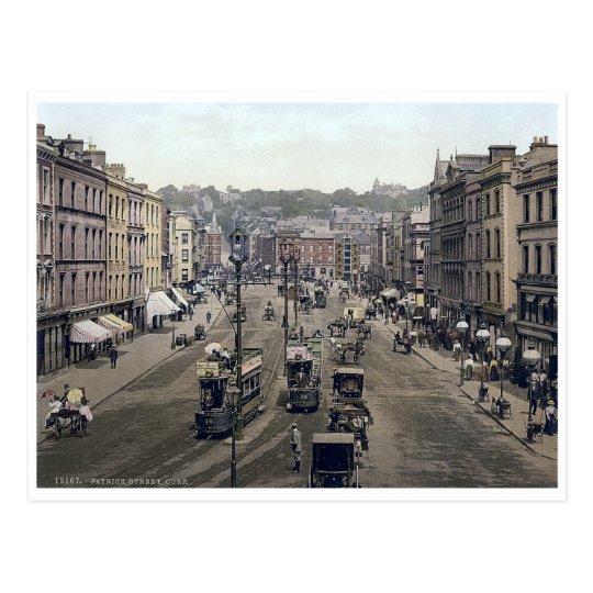 Vintage Ireland, Patricks Street Cork Postcard