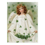 Vintage Irish Angel Postcard