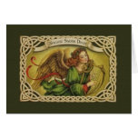 Vintage Irish Christmas Greeting Card