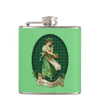 Vintage Irish Colleen Flasks