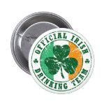 'Vintage' Irish Drinking Team Badge
