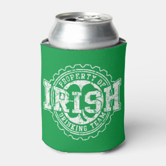 Vintage Irish Drinking Team Can Cooler