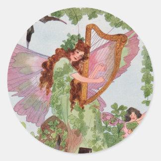 Vintage Irish Faerie Sticker