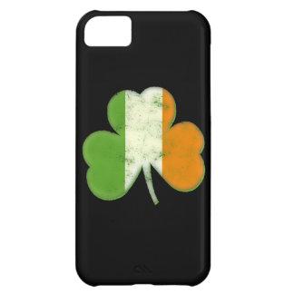Vintage Irish Flag Shamrock iPhone 5C Cases