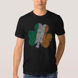 Vintage Irish Flag Shamrock Tshirts