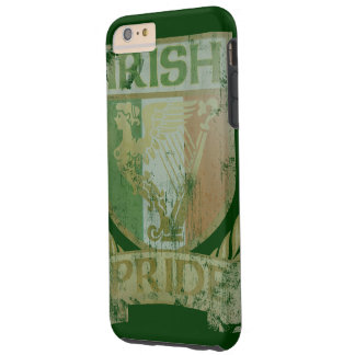 Vintage Irish Pride Crest Tough iPhone 6 Plus Case