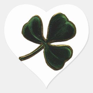 Vintage Irish Pride Shamrock Clover Sticker