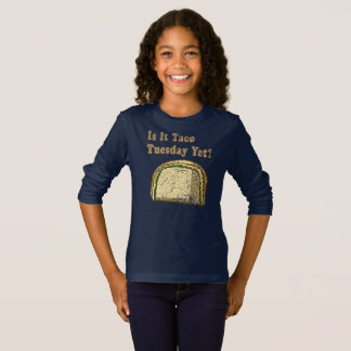 Vintage Is It Taco Tuesday Yet T-Shirt