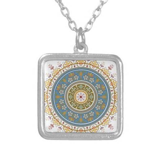 Vintage Islamic Pattern Design Pendant