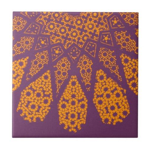 Vintage Islamic Pattern Design Tile