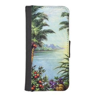 Vintage Island iPhone SE/5/5s Wallet Case