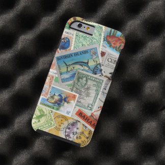 Vintage Island Stamps iPhone 6 Case Tough iPhone 6 Case